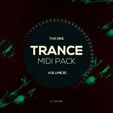 TH3 ONE: Trance MIDI Pack Vol 15