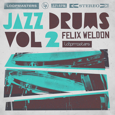 Felix Weldon: Jazz Drums 2
