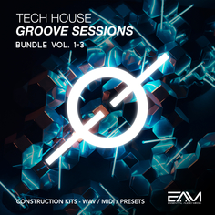 Tech House Groove Sessions Bundle (Vols 1-2-3)