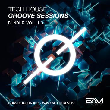Tech House Groove Sessions Bundle (Vols 1-2-3)