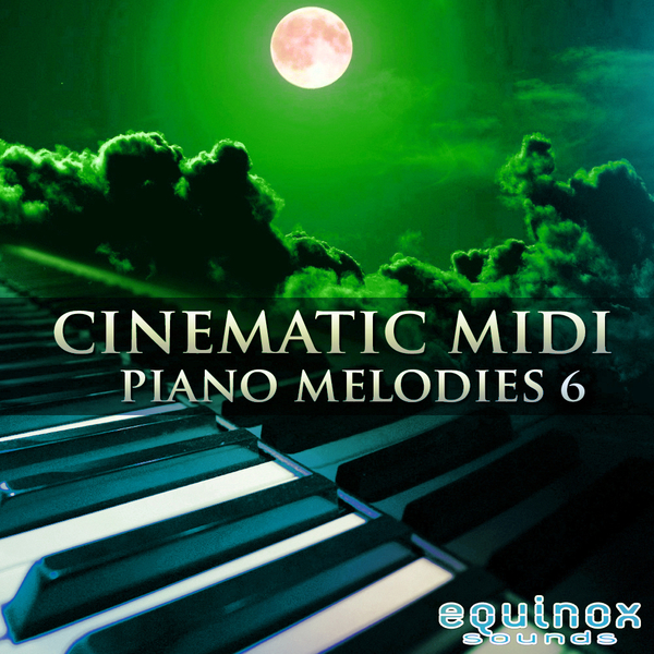 Cinematic MIDI Piano Melodies 6