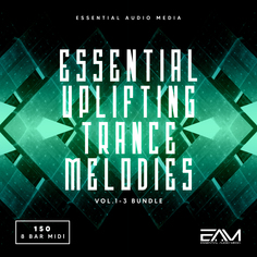 Essential Uplifting Trance Melodies Bundle (Vols 1-2-3)