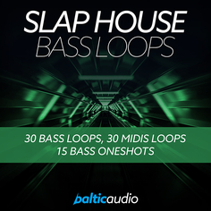 Slap House Bass Loops