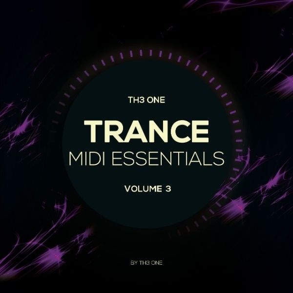 TH3 ONE Trance MIDI Essentials Vol. 3