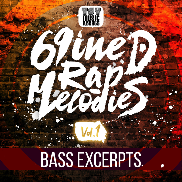 69iNED Rap Melodies Vol.1 Bass Excerpts