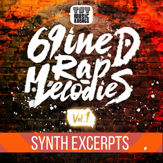 69iNED Rap Melodies Vol.1 Synth Excerpts