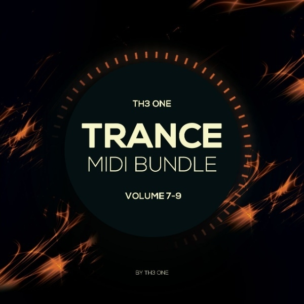 TH3 ONE Trance MIDI Bundle (Vol 1-3)