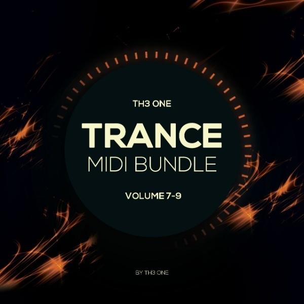 TH3 ONE Trance MIDI Bundle (Vol 10-12)