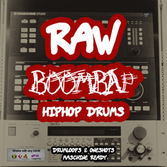 Raw BoomBap HipHop Drums