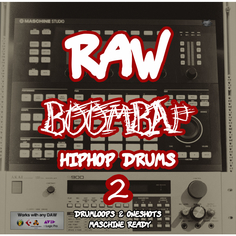 Raw BoomBap HipHop Drums Vol 2