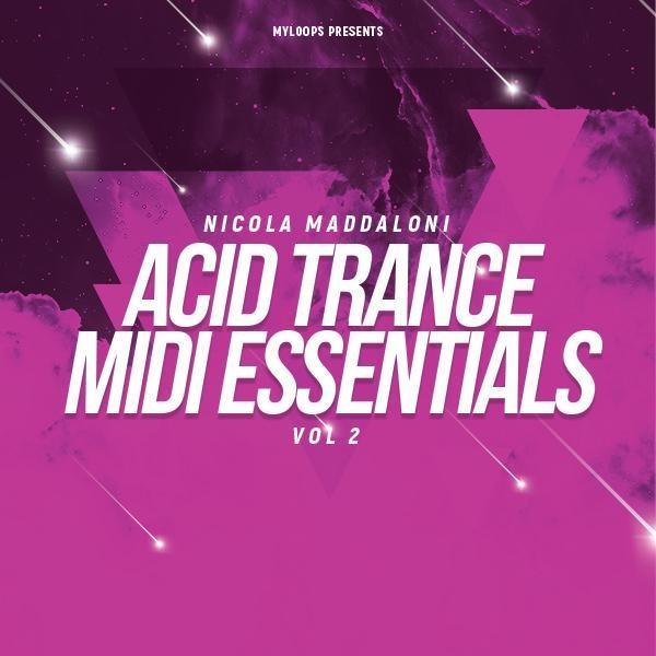 Nicola Maddaloni Acid Trance MIDI Essentials Vol 2