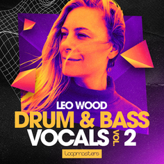 Leo Wood: Drum & Bass Vocals Vol 2