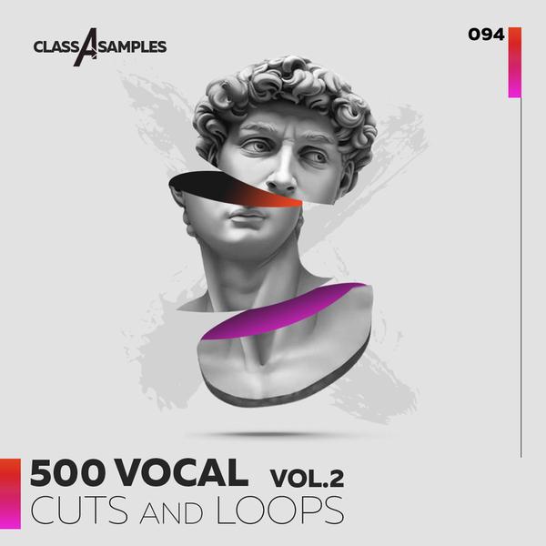 500 Vocal Cuts & Loops Vol 2