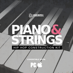 Piano & Strings: Hip Hop Construction Kit