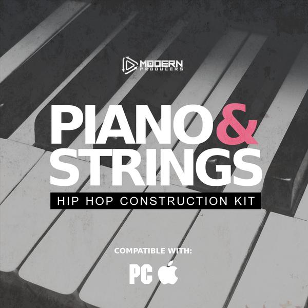 Piano & Strings: Hip Hop Construction Kit