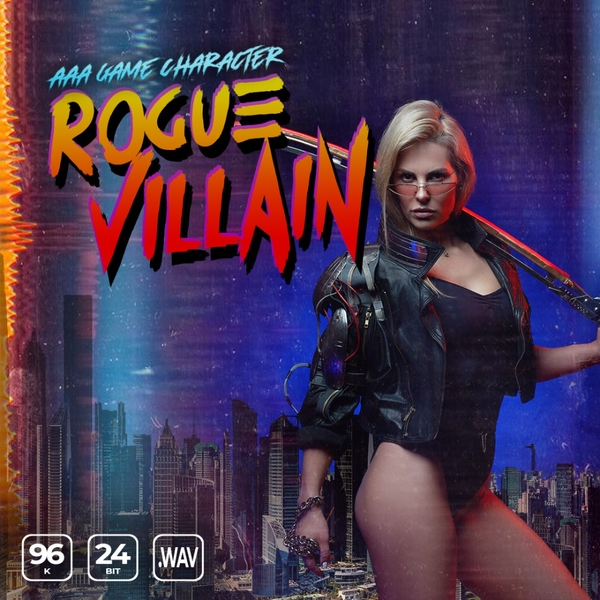 AAA Game Character Female Rogue Villain