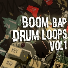 Boom Bap Drum Loops Vol 1
