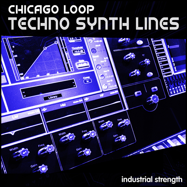 Techno Synth Lines: Chicago Loop