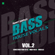 Bass House Vocals Vol 2
