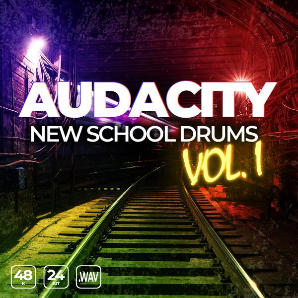Audacity New School Drums Vol 1