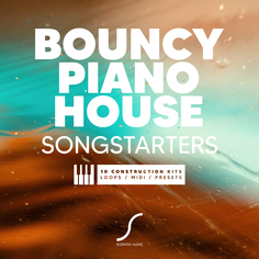 Bouncy Piano House Songstarters