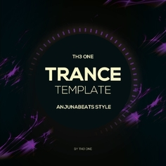 Trance Template Anjunabeats Style