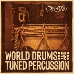 World Drums & Tuned Percussion