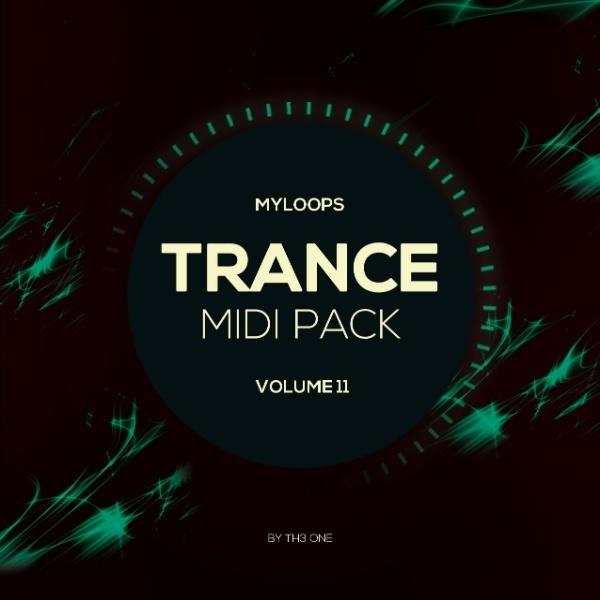 Trance MIDI Vol 11