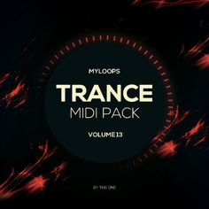 Trance MIDI Vol 13