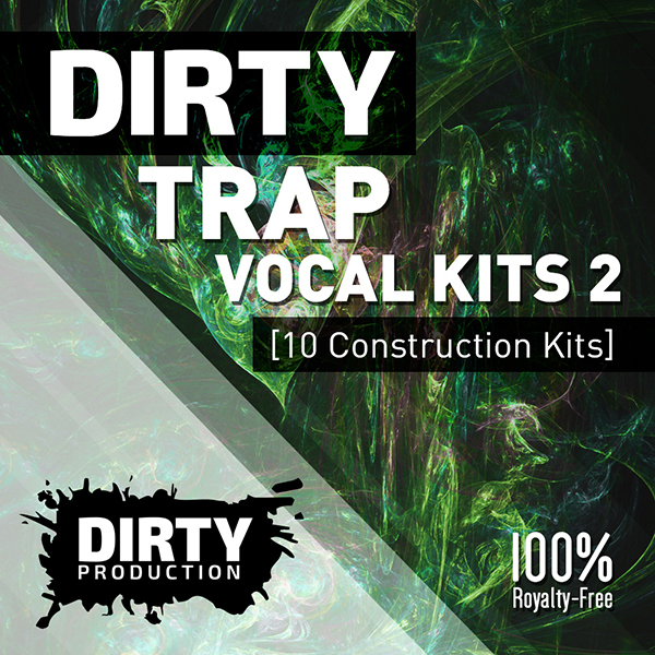 Download dirty production dirty trap vocal kits 2 for Classic house vocal samples