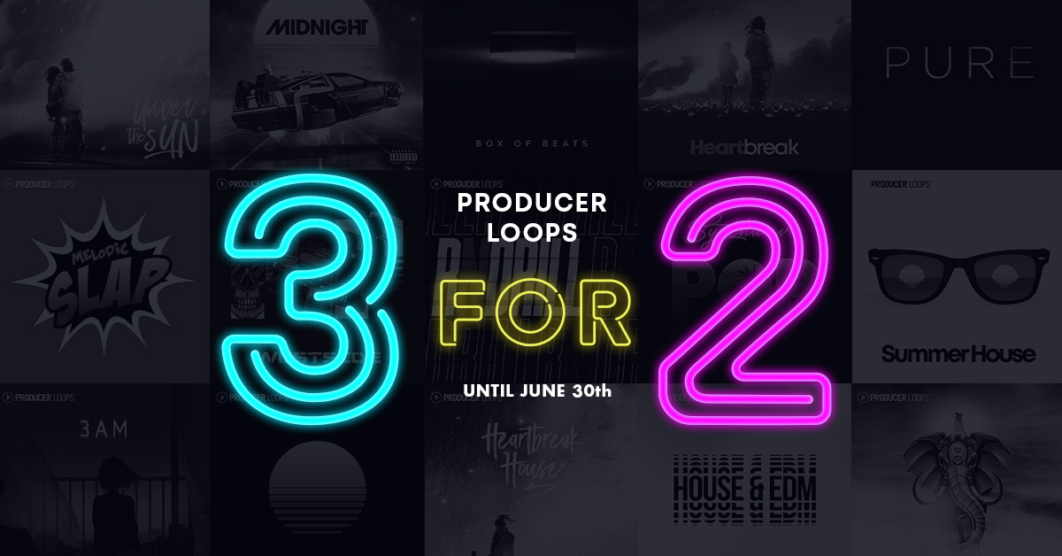 Producer Loops 3 for 2