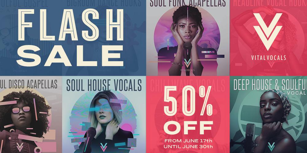 Vital Vocals Flash Sale