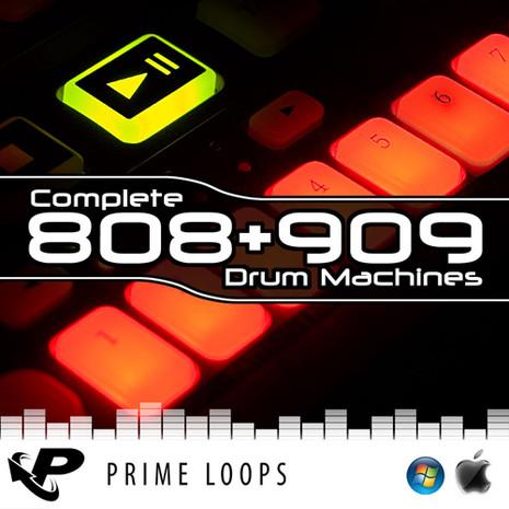 808 + 909 Drum Machines (Reason Refill)