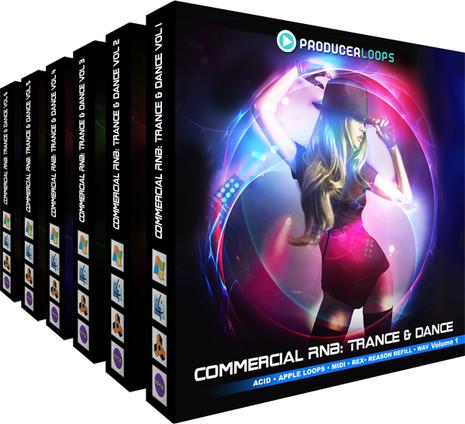 Commercial RnB: Trance & Dance Bundle (1-6)