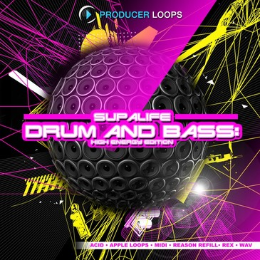 Supalife Drum & Bass: High Energy Edition