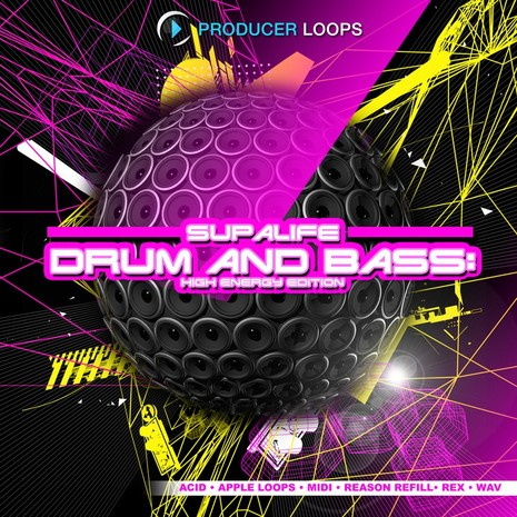 Supalife Drum & Bass: High Energy Edition