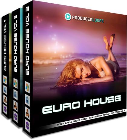 Euro House Bundle (Vols 1-3)