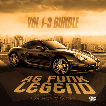 A.G. Funk Legend Bundle (Vols 1-3)