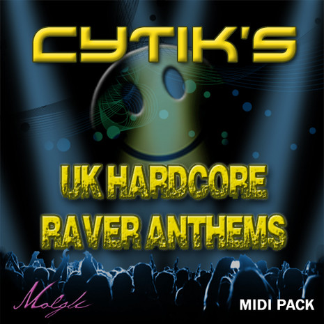 Cytik's UK Hardcore Raver Anthems MIDI Pack