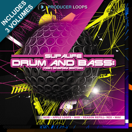 Supalife Drum & Bass Bundle (Hard, Dark, High Energy)