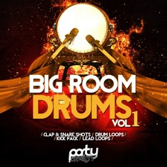 Big Room Drums Vol 1