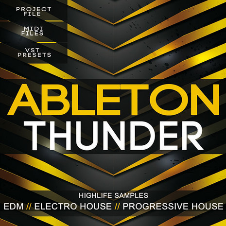 Download highlife samples ableton thunder edm template for Html edm template