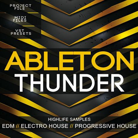 download highlife samples ableton thunder edm template
