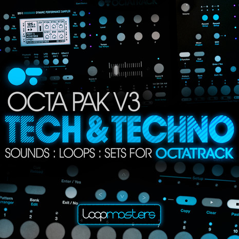 Download Loopmasters Octapack V3: Tech & Techno ...