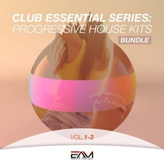Club Essential Series: Progressive House Kits Bundle Vols 1-3
