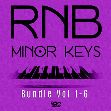 RnB Minor Keys: Bundle (Vols 1-6)