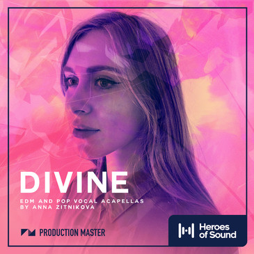 Divine: EDM & Pop Vocal Acapellas