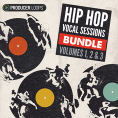 Hip Hop Vocal Sessions Bundle (Vols 1-3)