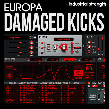 Europa Damaged Kicks