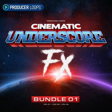 Cinematic Underscore FX Bundle 1 (Vols 1-3)